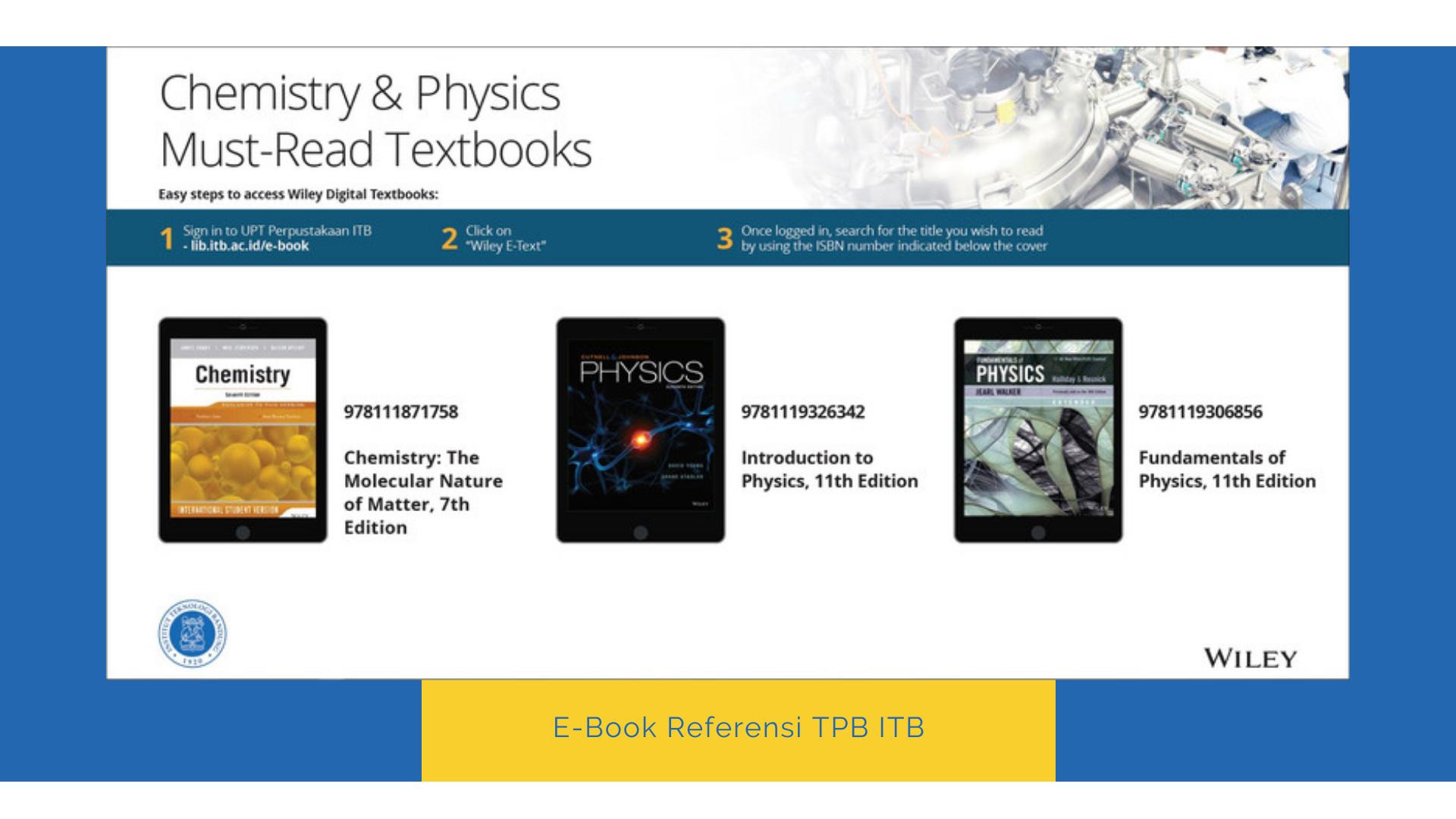 E-Book Referensi TPB ITB