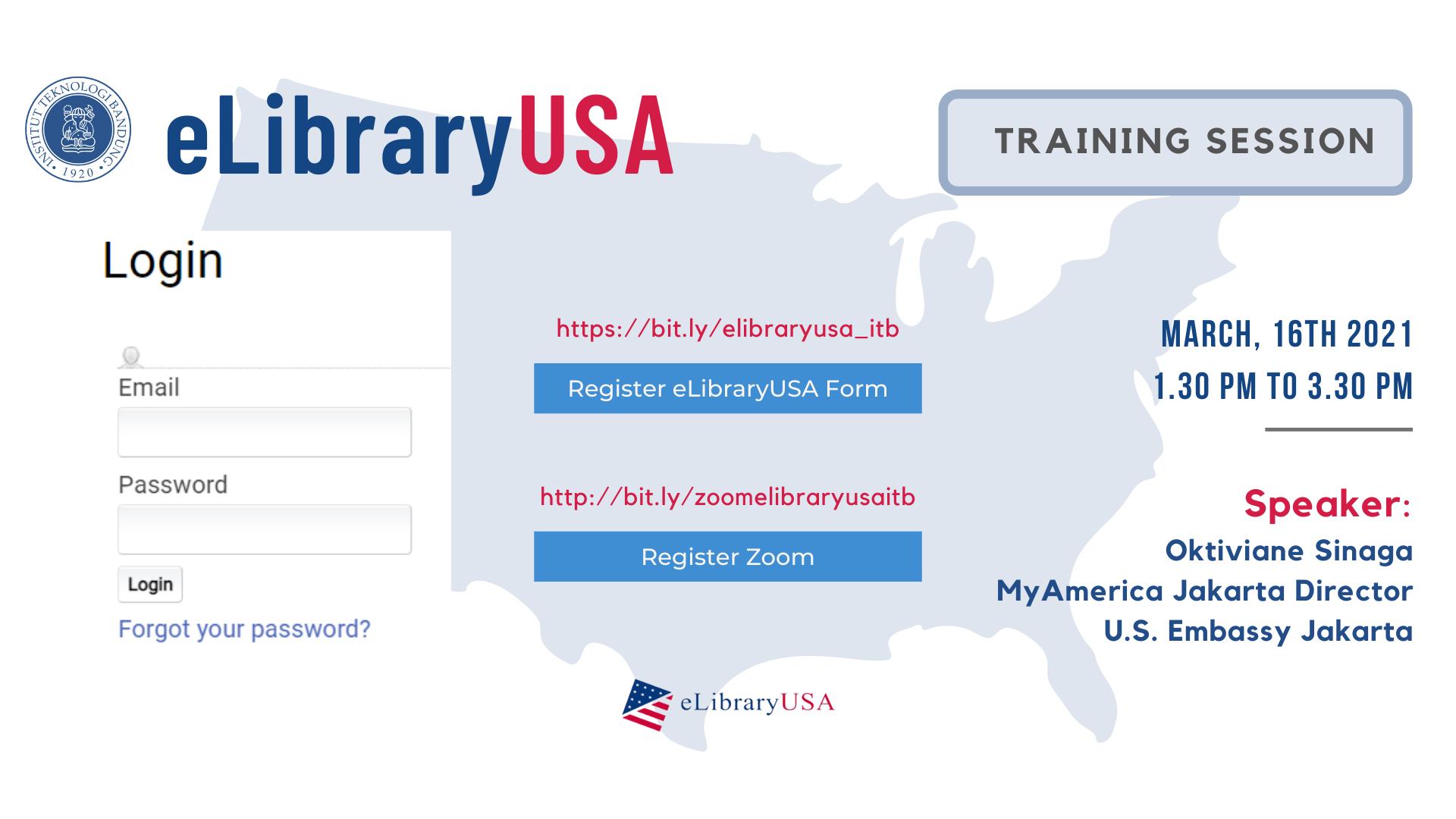 eLibraryUSA Training Session