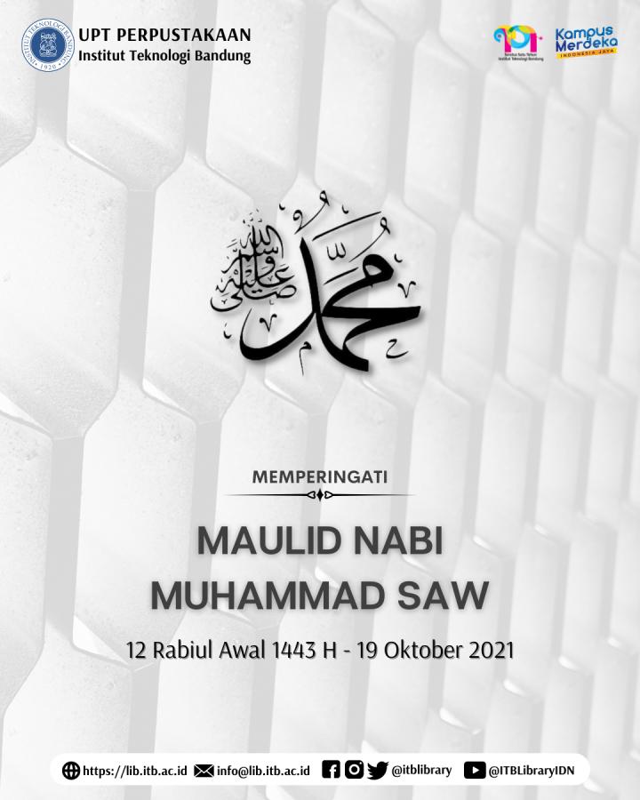 Memperingati Maulid Nabi Muhammad 1443 H
